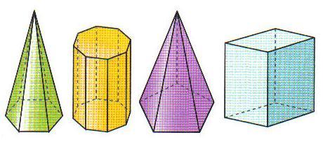 Dibujos de piramides y prismas - Imagui